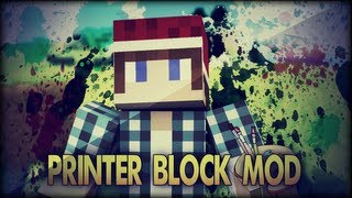 Minecraft Mod 1.4.5 | Printer Block