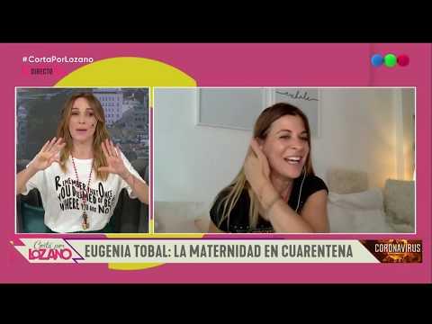 La Declaración De Amor De Eugenia Tobal A Heber - Cortá Por Lozano 2020