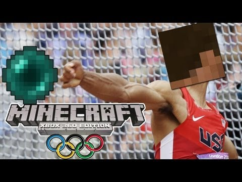 Minecraft (Xbox 360) - OLYMPIC GAMES w/ Big B statz & Subscribers #3 - ENDER THROW