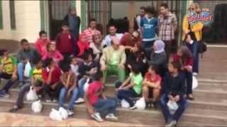 محمد صبحي يستقبل أطفال ايتام بيت الرحمة فى اكاديمية سنبل