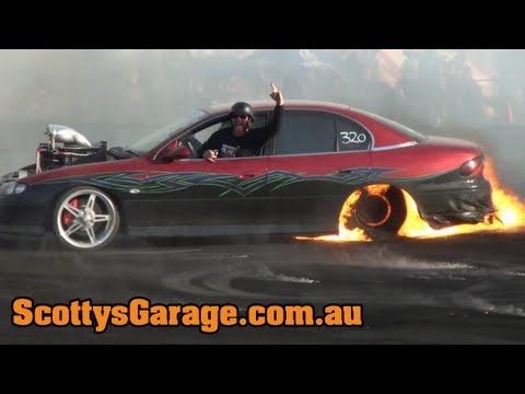 Scotty's Garage 2012 - Crashes, Fires, Bangs & Close Calls