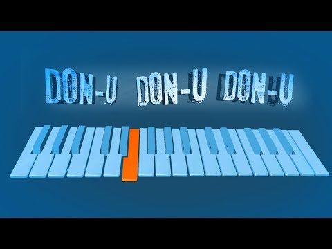Donu Donu Donu | Instrumental Cover | Tutorial | How to Play | Music Notes