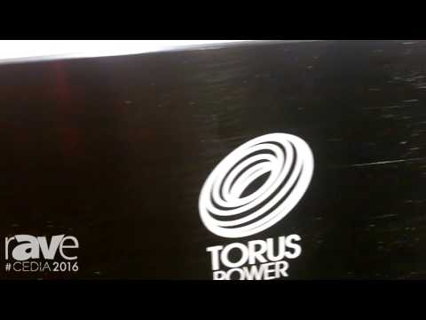 CEDIA 2016: Torus Power Exhibits TOT AVR Series Torodial Isolation Power Transformer