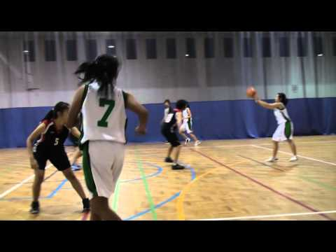 Asia Pacific Sports Management Tournament 2012  - Girls vs NJC 1