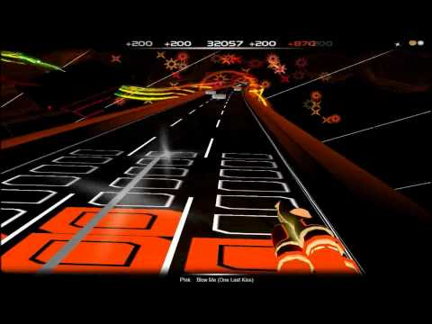 Pink - Blow Me (one Last Kiss) (clean) (audiosurf) video