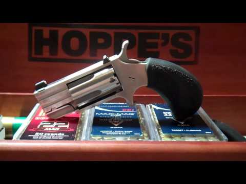 Detailed look at NAA pug mini revolver 22 magnum
