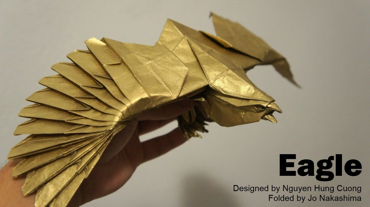 how to make a paper eagle that can fly