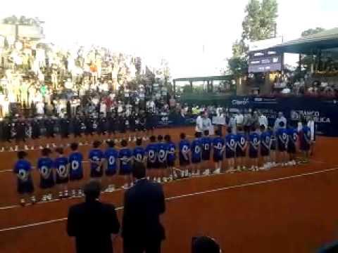ATP Challenger Tour Uruguay Open 2014 Pablo Cuevas entrega de Premio