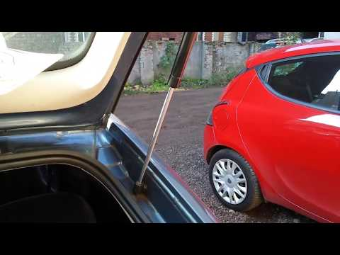 POPRAWNE Działanie Siłownika Teleskopu Klapy Bagażnika - PORADA W Filmie! Opel Astra G