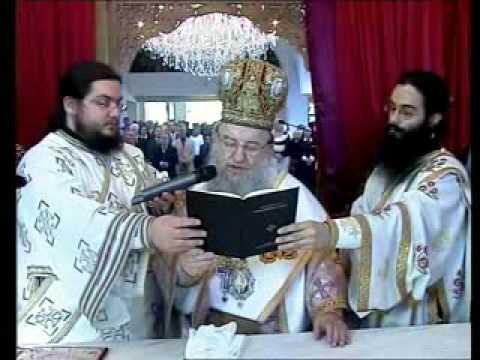Εγκαίνια ιερού Ναού αγ. Βασιλείου (πλήρης ακολουθία)