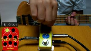 Bananana Effects MATRYOSHKA Bass Synth Pedal Demo
