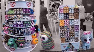 New York Toy Fair 2017 Ty Beanie Boo Dolls & Teeny Tys Doll Booth Tour Beanie Boos Collection Video