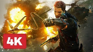 8 Minutes of Explosive Just Cause 4 Gameplay in 4K