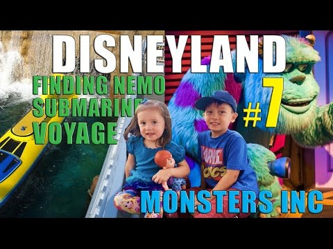 MONSTERS INC and FINDING NEMO SUBMARINE VOYAGE at DISNEYLAND Part 7 (Ep39) - KIDS TRAVEL CHANNEL