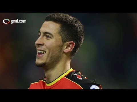 Eden Hazard - great goal - Belgium v Macedonia