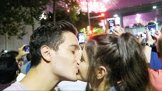 OUR FIRST NEW YEARS KISS EVER