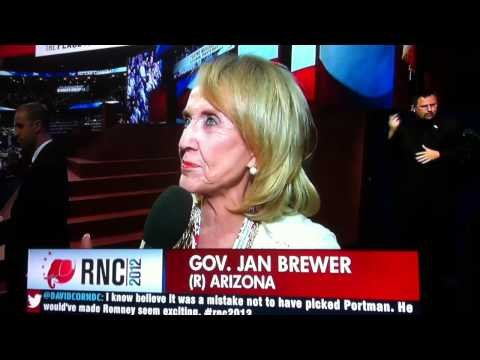 Jan Brewer Hopes President Obama will Get Re-Elected