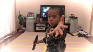 Enter the Ryusei (5year old) - Bruce Lee