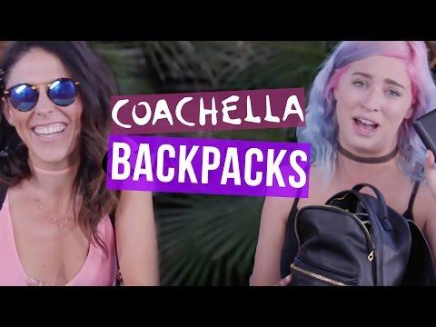 What's in Our Coachella Backpacks?! (Beauty Break)
