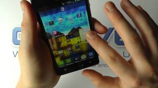 LG Optimus L7 (LG-P700) Android Smartphone Hands On
