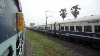 High Speed Parallel Action_ Patna Jan Shatabdi vs Ranchi Intercity 110 Kmph Race_ WAP4 vs WAM4!