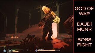 Epic Kills #4  DAUDI MUNR Boss Fight - God of War