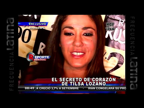 'El expediente TV' de Tilsa Lozano