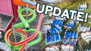 AquaMagis Plettenberg NEW SLIDES 2018 | Construction Site Update