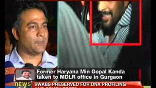 Geetika Sharma suicide: Kandas interrogation underway - NewsX