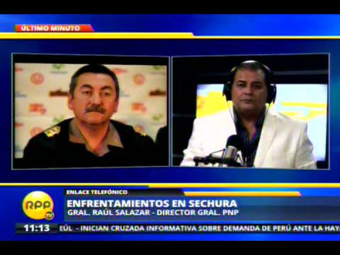 Policía confirma fallecimientos en protesta de pescadores en Sechura