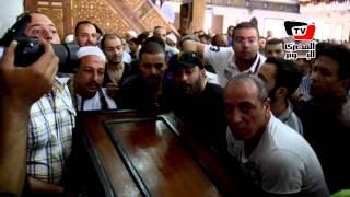 جنازة المخرج جلال توفيق والد ياسر ورامز جلال