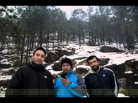 autumn, winters, snowfall with my friends in kullu manali himachal pradesh
