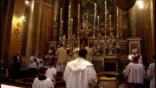 Pontifical Mass Rome, Cardinal Rode on the feast of the Immacualte Conception, Rome 8th of December