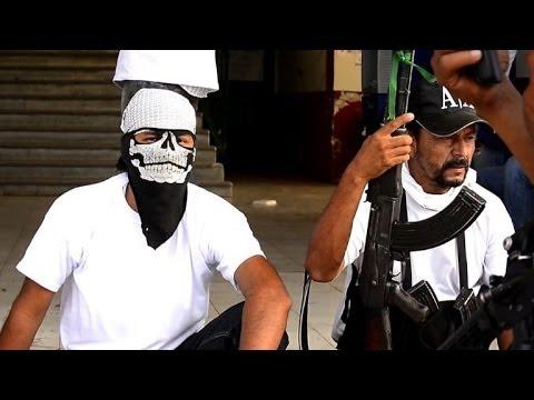 Ofensiva de autodefensas en México