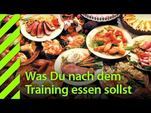 essen vor dem training abnehmen