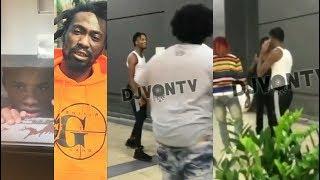 Savage Runs Up on Boonk! Jail Goon After Tay-K! Kodak Bro John Wicks Arrested