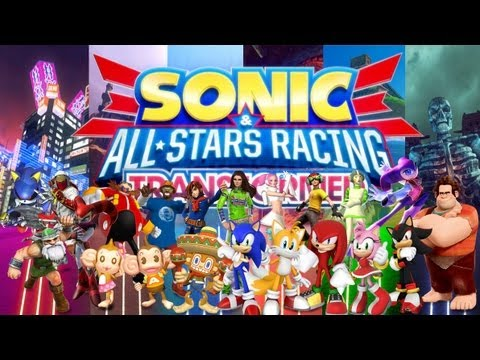 Sonic All Stars Racing Transformed - Gameplay PC