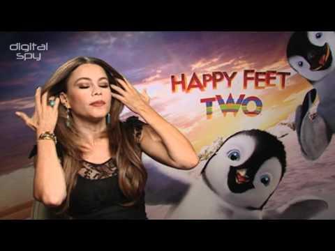 Sofia Vergara 'Happy Feet Two' interview: 'My voice makes a penguin sexy'