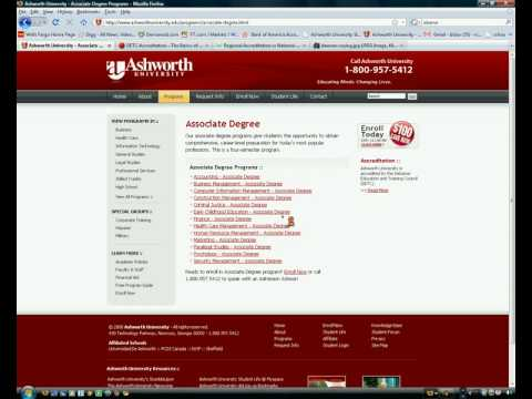 Ashworth University review