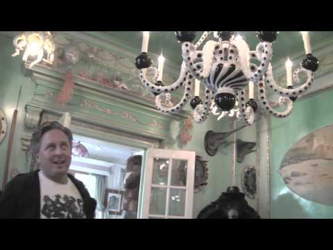 Adam Wallacavage Gives A Tour Of HIs Philly Funhouse