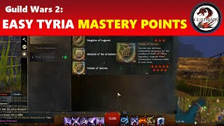 Guild Wars 2: Easiest Core Tyria Mastery Points to Get (All 49 Required Ones)