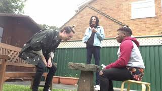 A very wet try not to laugh challenge