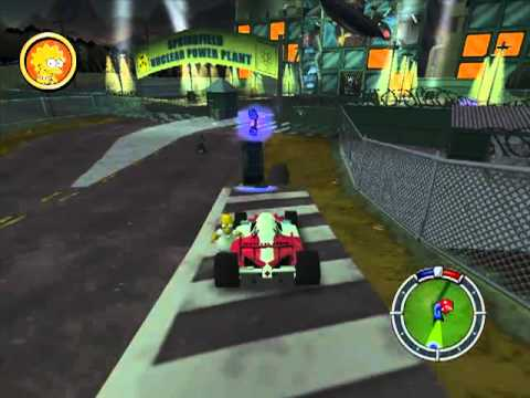 Lets Play Simpsons Hit & Run 20 - Capitulo final contenido opcional...