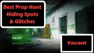 Call of Duty MWR Best Prop Hunt Hiding Spots & Glitches! (Vacant)