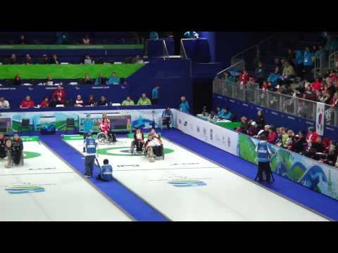 Wheelchair Curling - Vancouver 2010 Paralympic Games
