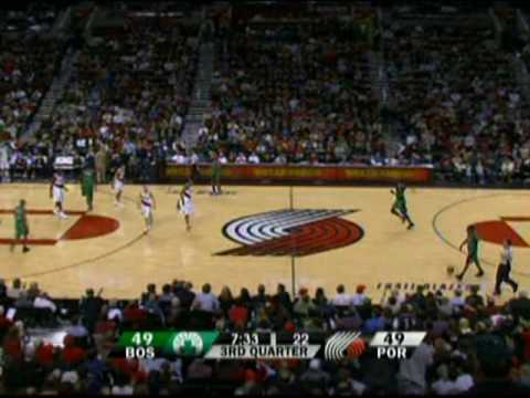Greg Oden vs the Boston Celtics