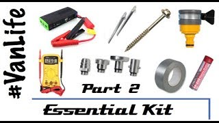 VanLife Essentials Pt2 - Gear for your RV, Camper, Motorhome, Campervan