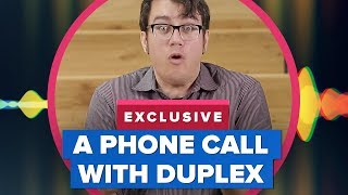 Google's Duplex Assistant phone call blew my mind!