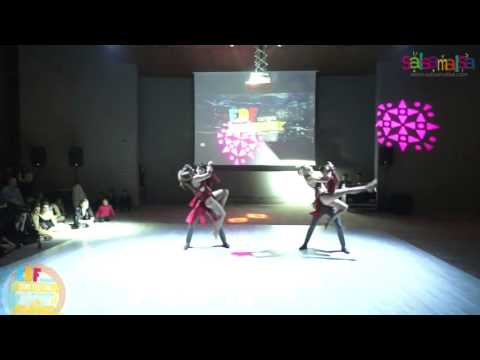 Trio Group Dance Performance - EDF 2016
