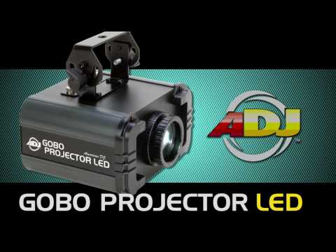 American DJ Gobo Projector LED Video